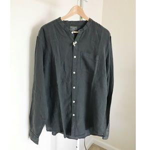 NWT Abercrombie & Fitch Grey Shirt